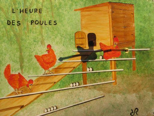 heure des poules